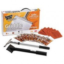 Scotch-Brite Quick Clean Griddle Cleaning System Starter Kit